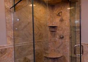 Rectangle Tile Shower Stall Designs