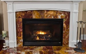 Custom Fireplace Surrounds - Fireplace surrounds are a perfect complement to the traditional wood mantel
